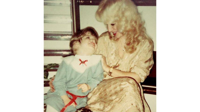 Susan Sideropoulos mit ihrer Mama
