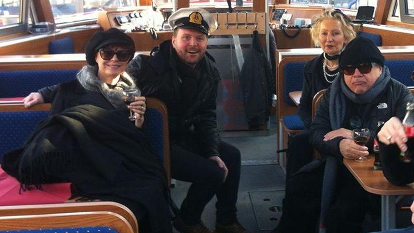 Ertappt: Susan Sarandon & Danny DeVito in Hamburg!