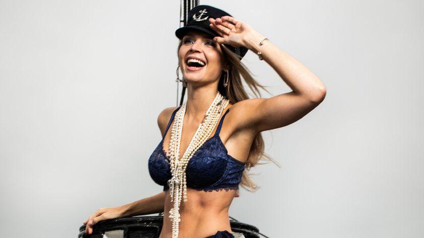 "Susanna, Kandidatin bei ""Sylvies Dessous Models"""
