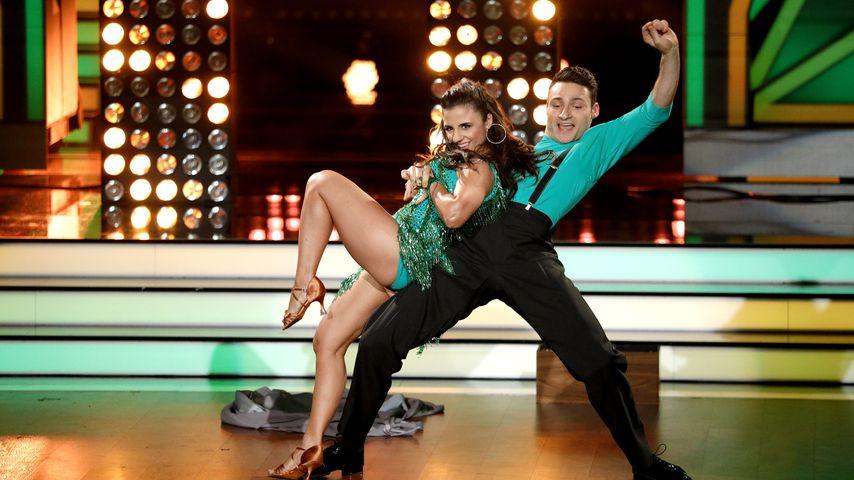 """Susi Kentikian und Robert Beitsch bei """"Let's Dance"""" 2017"""
