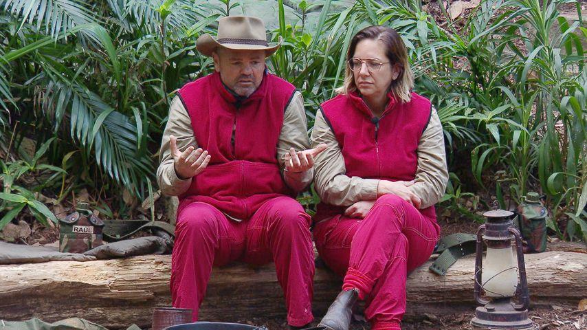 Sven Ottke und Danni Büchner im Dschungelcamp 2020