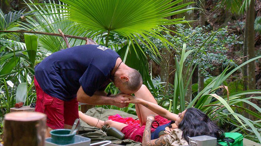 Sven Ottke und Elena Miras im Dschungelcamp