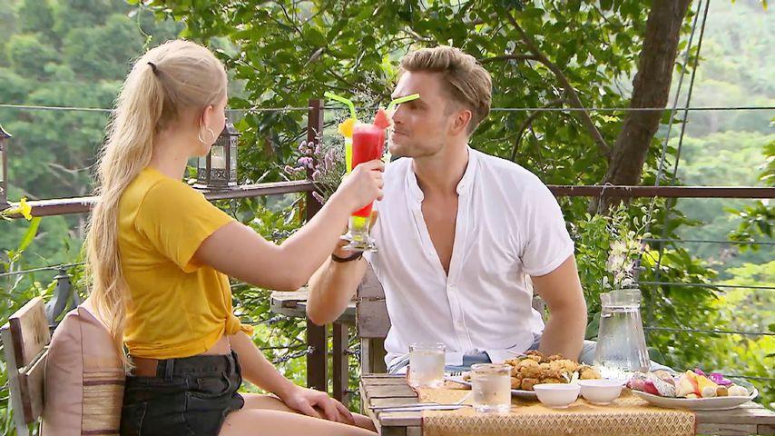 """Svenja von Wrese und Johannes Haller in der dritten Folge von """"Bachelor in Paradise"""""""