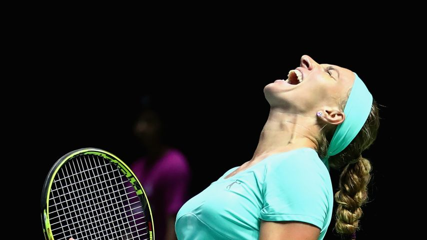Svetlana Kuznetsova bei den WTA-Finals in Singapur