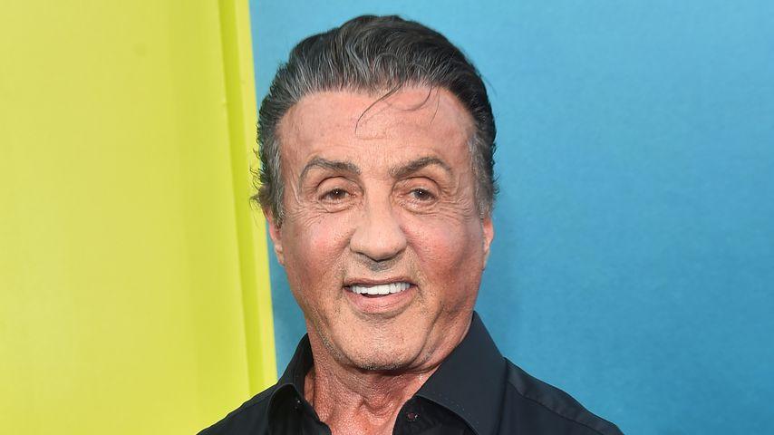 """Sylvester Stallone bei der Premiere von """"The Meg"""" 2018"""