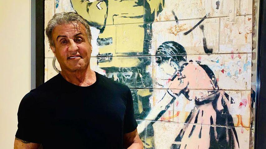 Sylvester Stallone im Februar 2021