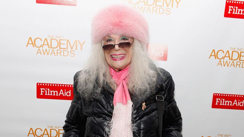 Sylvia Miles im Februar 2012 in New York