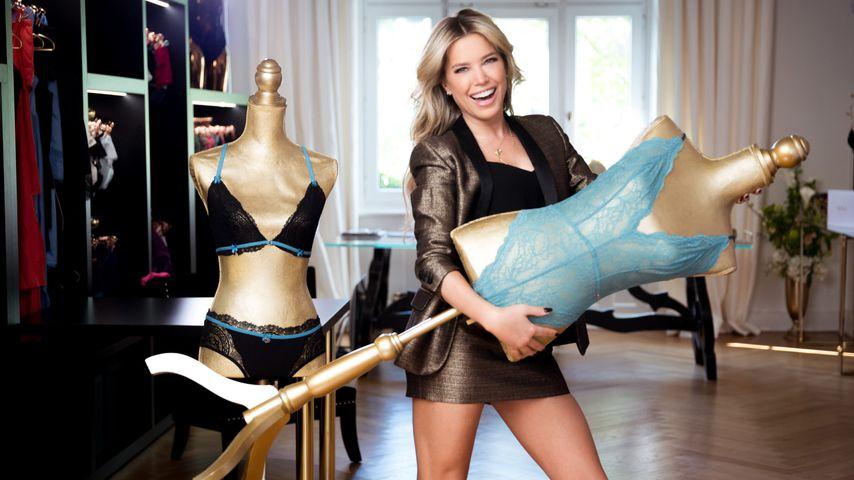 Sylvie Meis mit ihrer Wäschekollektion Flirty Lingerie