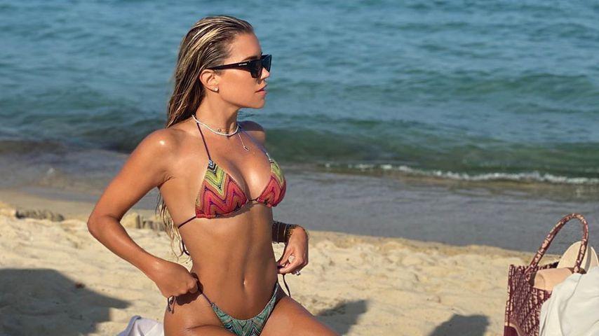 Sylvie Meis in Saint-Tropez im Juli 2020