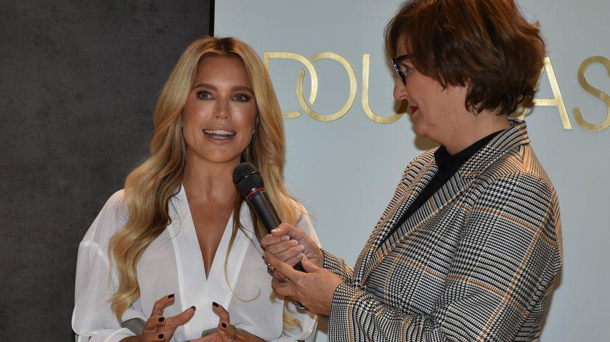 Sylvie Meis bei der Douglas-Store-Eröffnung in Berlin, Oktober 2019