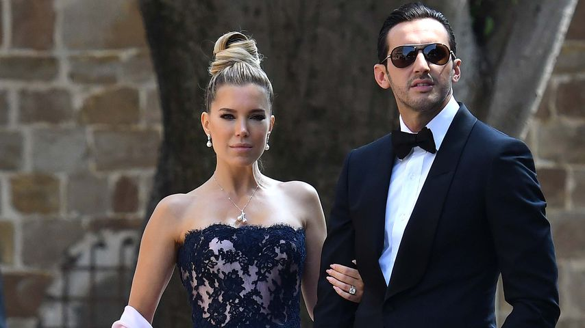Sylvie Meis & Charbel Aouad auf der Hochzeit von Victoria Swarovski