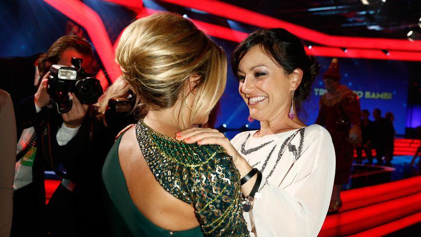 Sylvie Meis und Miriam Pielhau bei der Trubute to Bambi Show im Oktober 2013