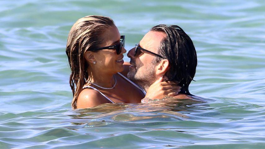 Sylvie Meis und Niclas Castello in St. Tropez im August 2020
