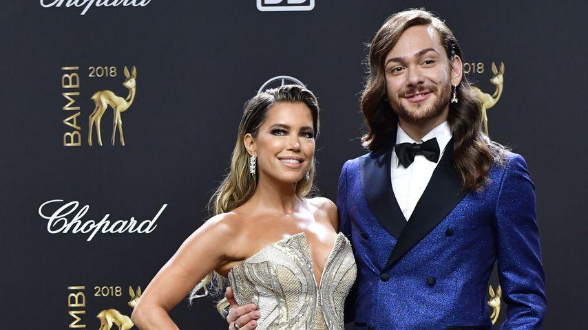 Sylvie Meis und Riccardo Simonetti im November 2018