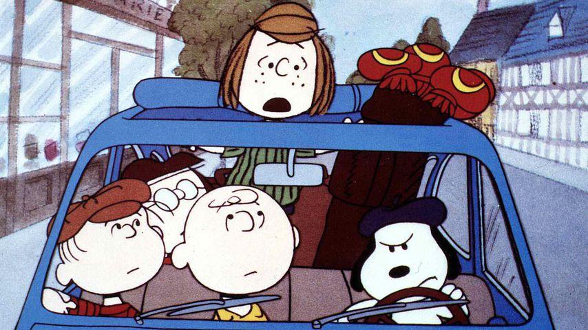 """Szene aus """"Gute Reise, Charlie Brown"""""""