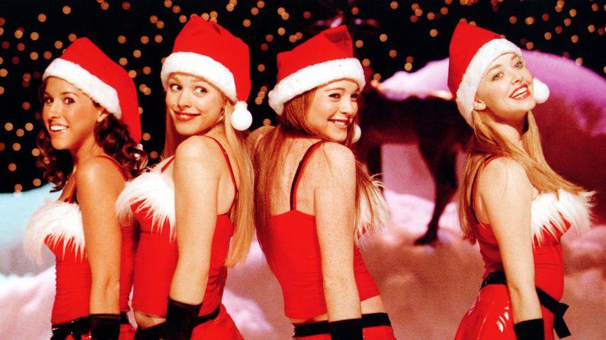 "Lacey Chabert, Rachel McAdams, Lindsay Lohan und Amanda Seyfried in ""Mean Girls"", 2004"
