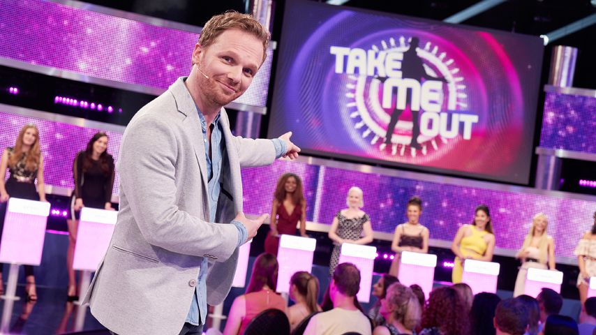 "Ralf Schmitz als Moderator bei ""Take Me Out"""