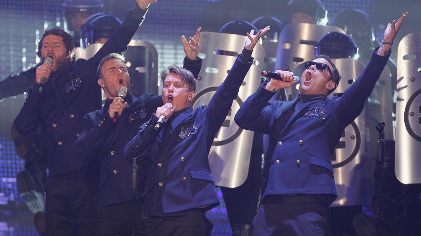 Die Band Take That bei einem Auftritt 2011 in Berlin