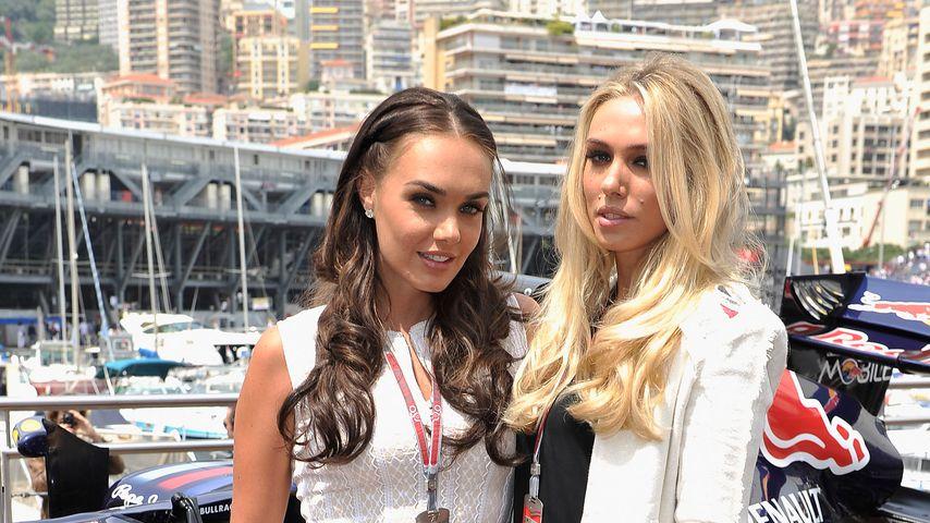 Tamara und Petra Ecclestone, 2012