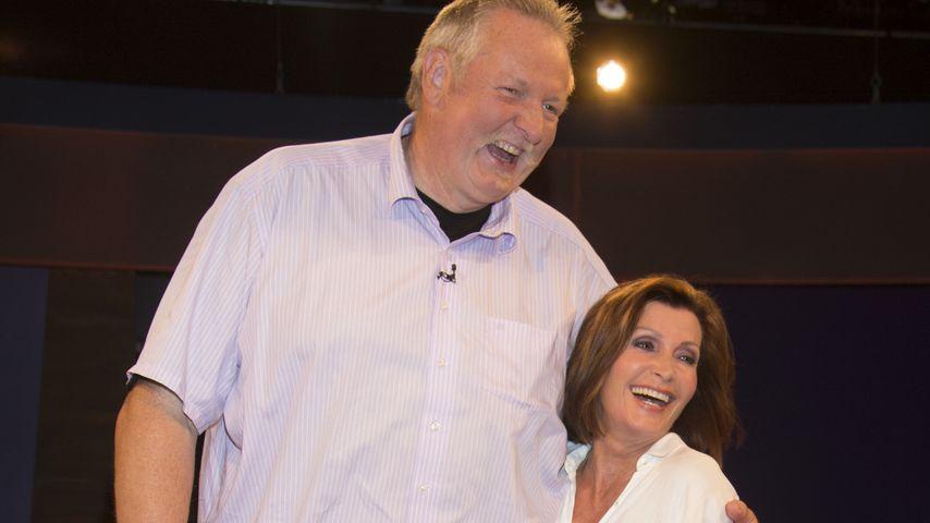 Tamme Hanken und Susanne Uhlen in der ZDF-Talkshow von Markus Lanz