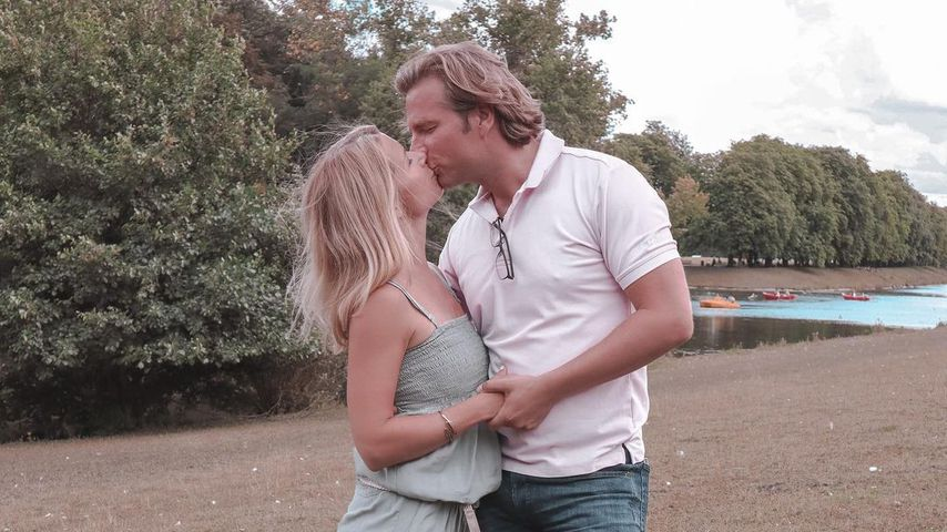 Tanja Szewczenko mit ihrem Mann Norman