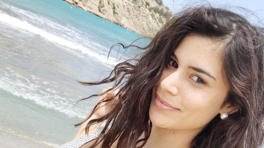 Tanja Tischewitsch im Ibiza-Urlaub