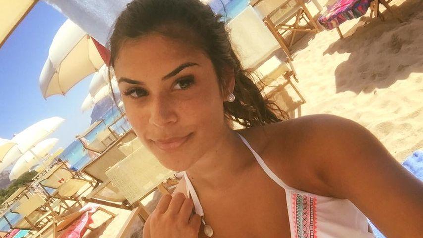 Tanja Tischewitsch im Italien-Urlaub
