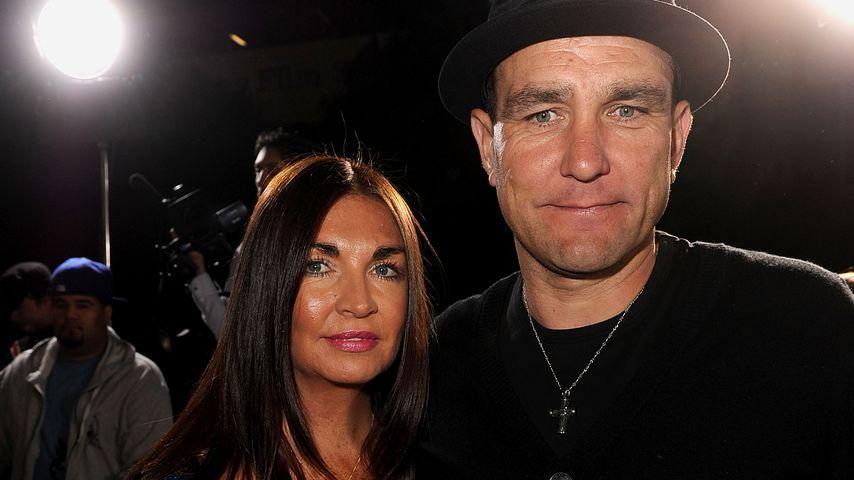 Tanya und Vinnie Jones im April 2010 in Los Angeles