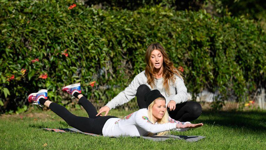 Tara Reid und ihre Fitness-Trainerin Jenna Willis