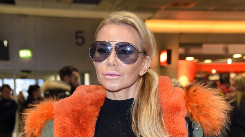 Tatjana Gsell am Frankfurter Flughafen