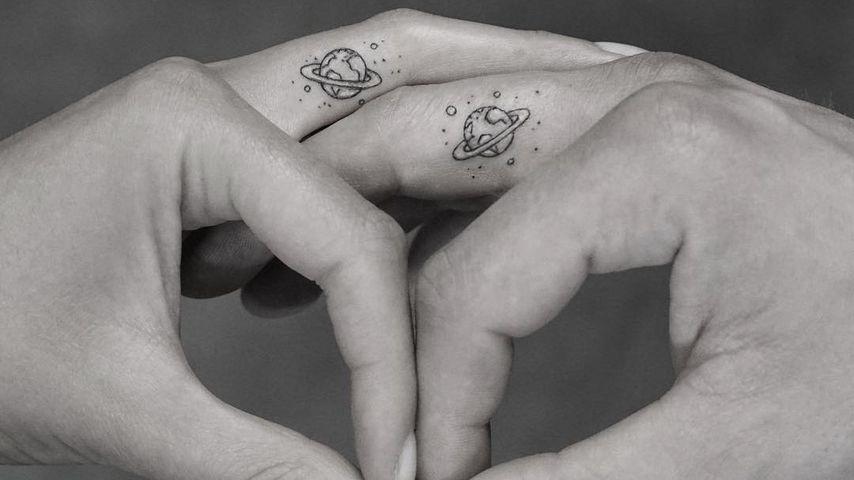 Tattoo von Stefanie Giesinger und Marcus Butler