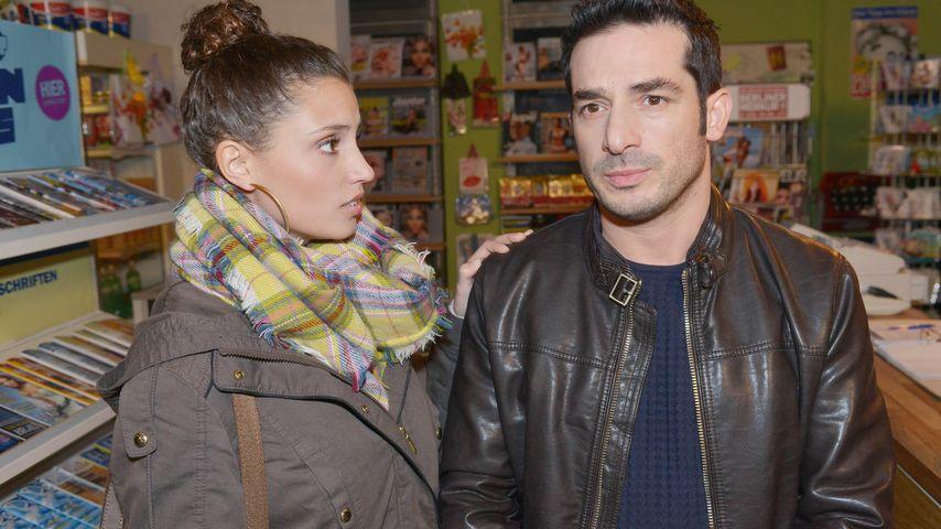 Nadine Menz und Tayfun Baydar bei GZSZ