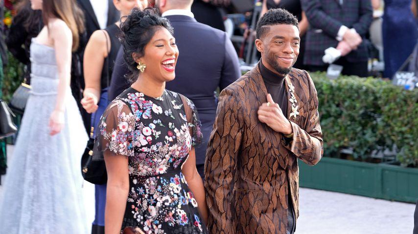 Taylor Simone Ledward und Chadwick Boseman 2019