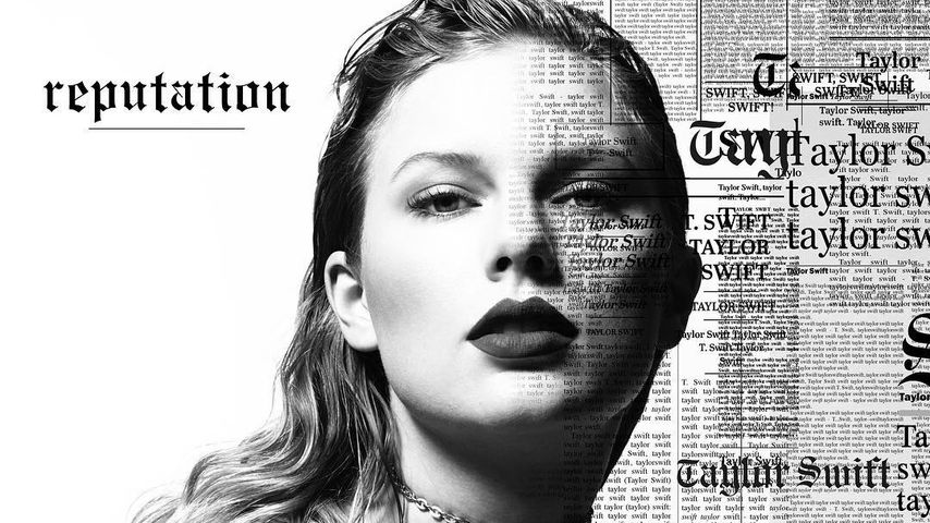 "Taylor Swift Album-Cover ""Reputation"""