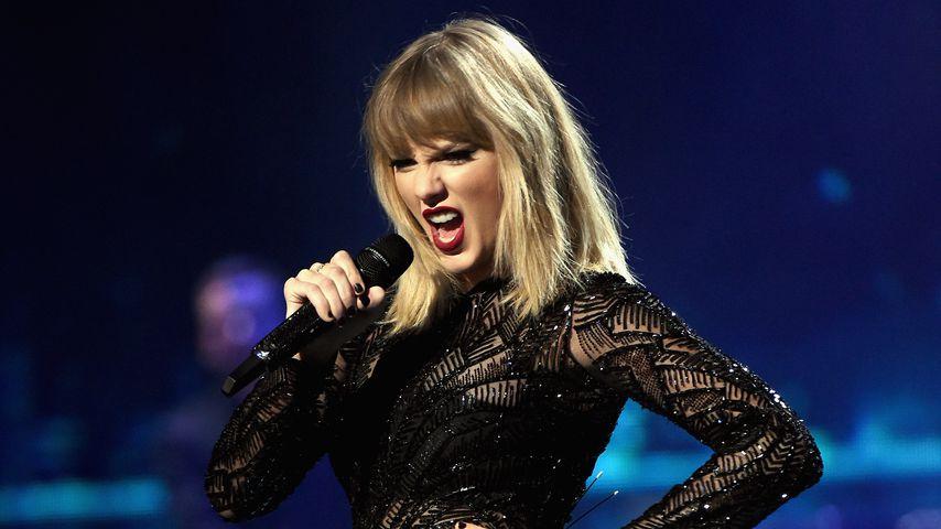 Taylor Swift bei einem Konzert in Texas 2017