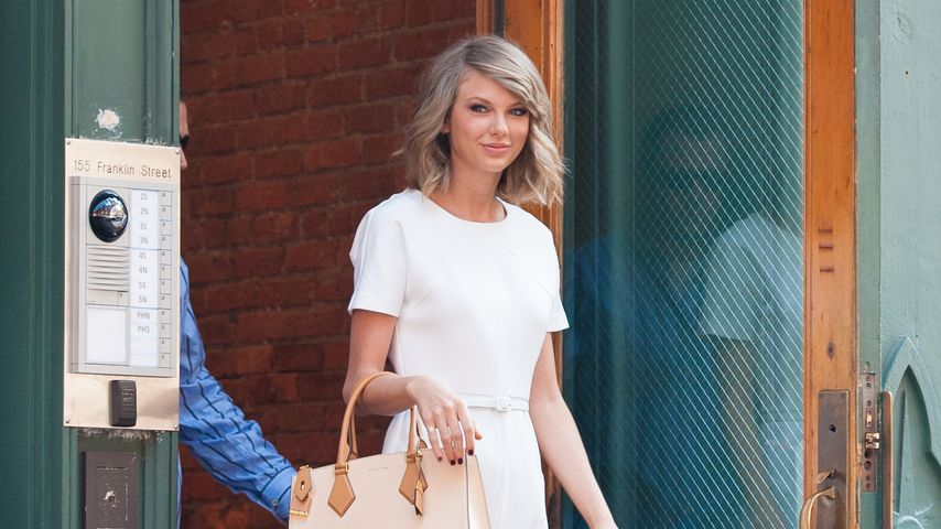 Nacht mit Calvin: Hier strahlt Taylor Swift überglücklich