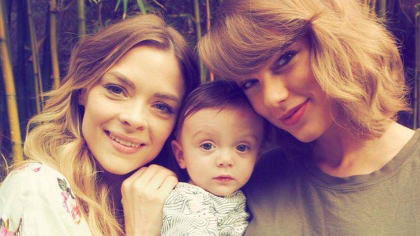 Jaime King und Leo Thames Newman mit Taylor Swift