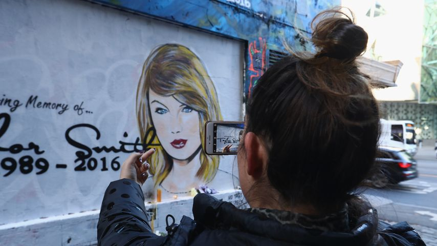 Taylor Swift R.I.P.-Graffiti in Melbourne, Australien