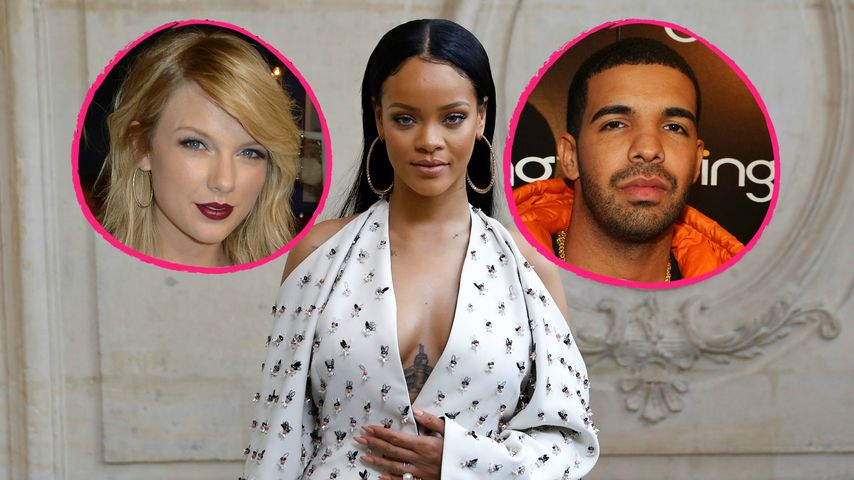 Finger weg! Rihanna warnt Taylor Swift vor Drake-Beziehung