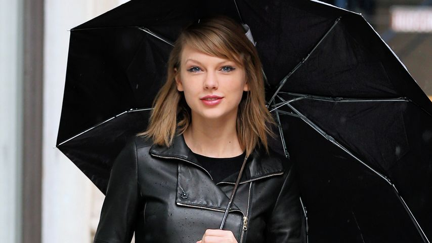 Lady in black: Taylor Swift kann auch cool!