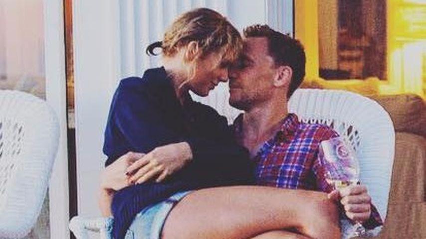 1. offizielles Foto: Hier schmust Taylor Swift ihren Tom!