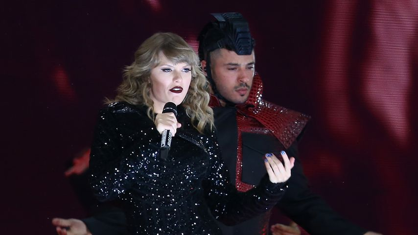 Taylor Swift bei einem Konzert in Perth