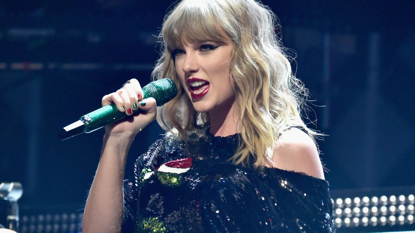 Taylor Swift auf dem Z100 Jingle Ball 2017 in New York