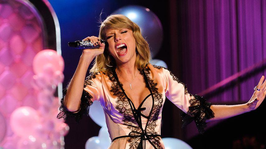 Wow! So hot war Taylor Swift bei Victoria's Secret