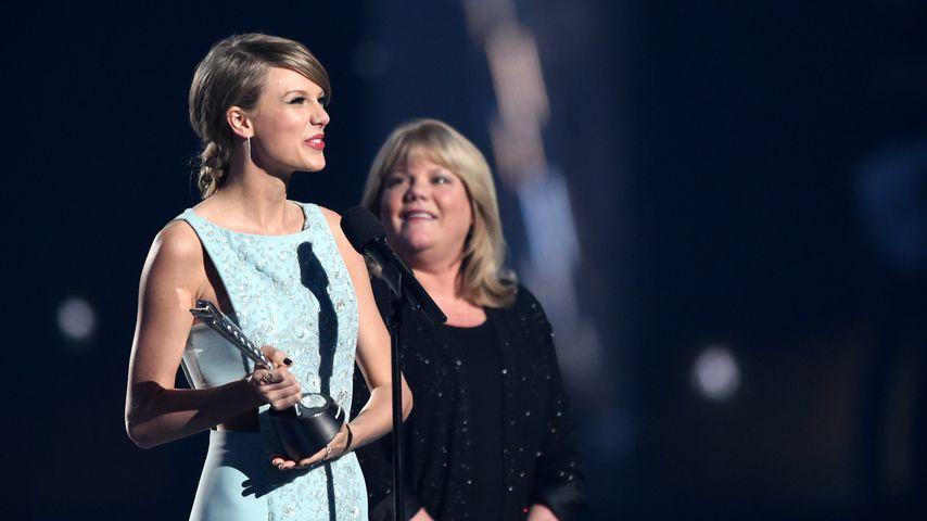 Taylor Swift und ihre Mutter Andrea, April 2015