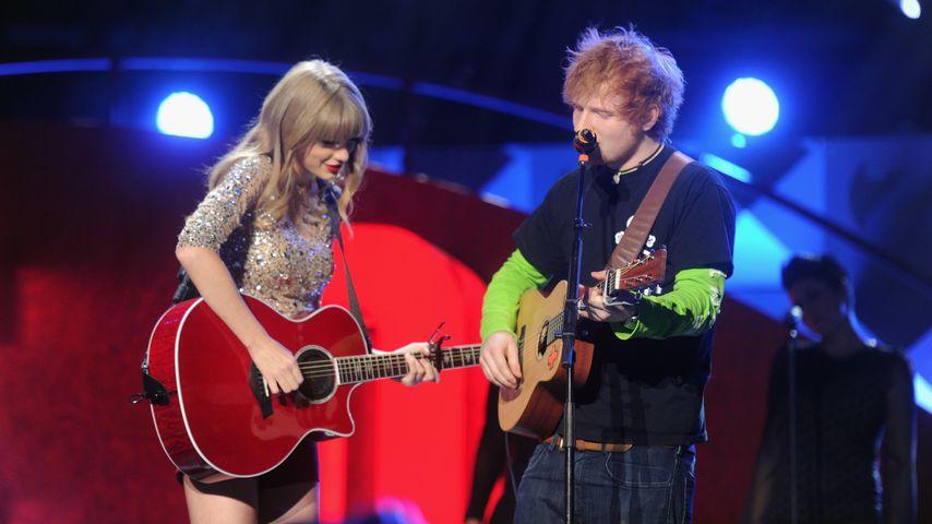Ed Sheeran floh mit Taylor Swift vor den Cops!