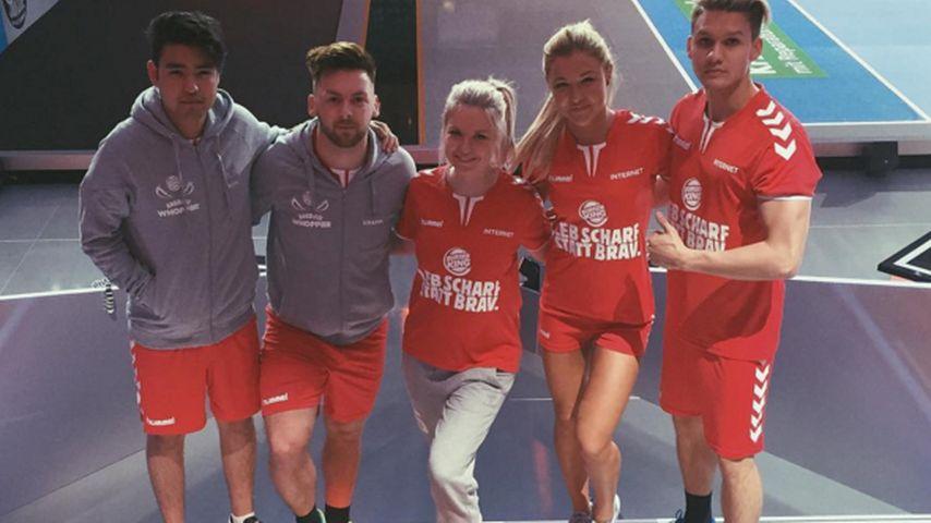 "Team ""Internet"" beim Promi-Völkerball 2016"