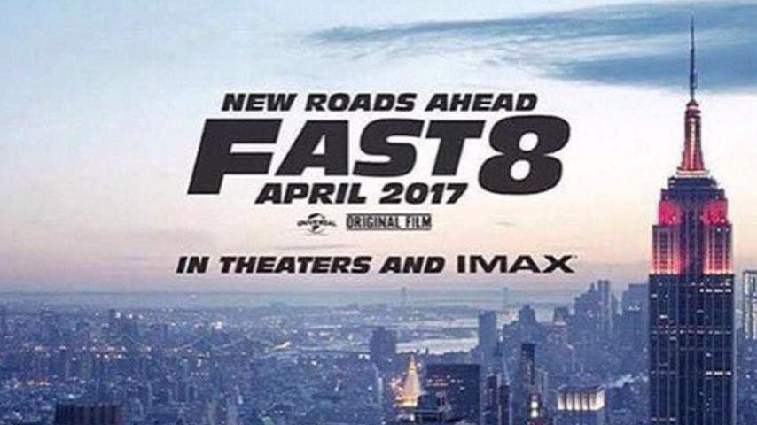 """Ab nach New York: 1. Teaser-Plakat zu """"Fast & Furious 8"""""""