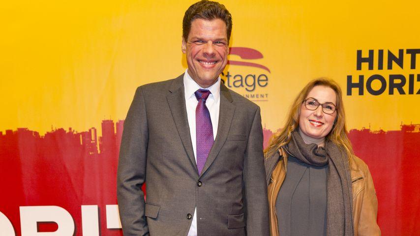 """Tetje & Cornelia Mierendorf auf der """"Hinterm Horizont""""-Premiere in Hamburg 2016"""