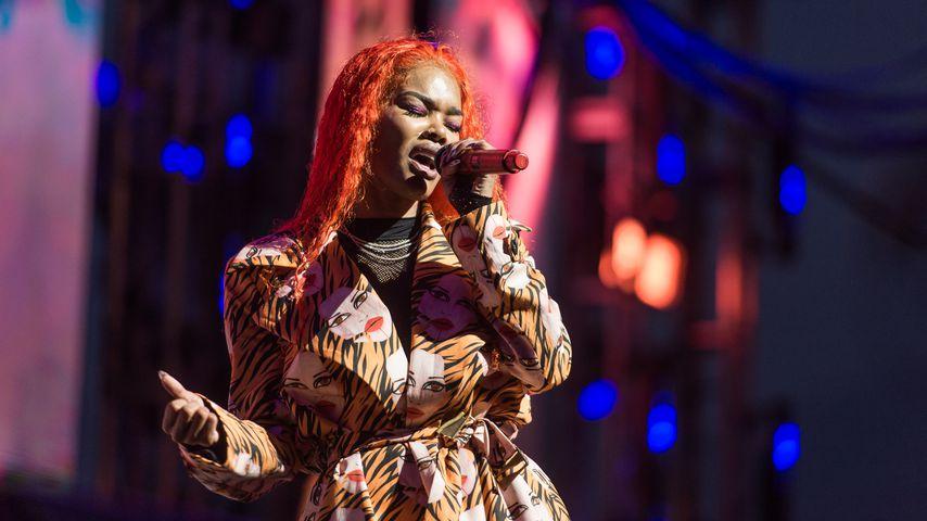 Die US-amerikanische Musikerin Teyana Taylor im Juni 2019 in New York City